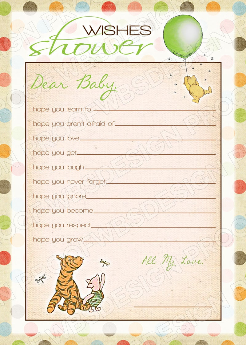 ... The Pooh Baby Shower Invitations Templates Whale wishes baby shower
