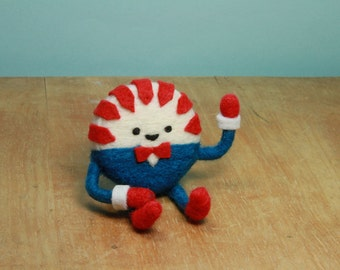 Needle Felted Peppermint Butler (Adventure Time)