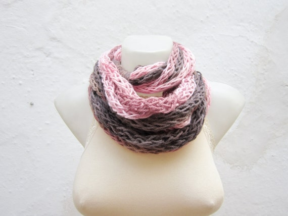 items similar to chunky fall scarf finger knitting scarf