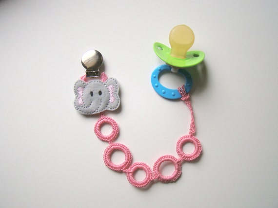 how to make cute pacifier clips