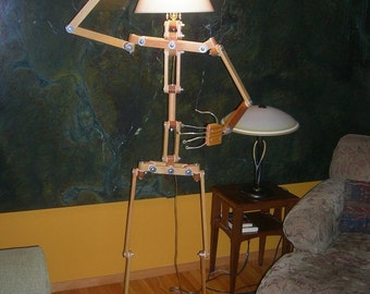 Posable Character Floor  Lamp