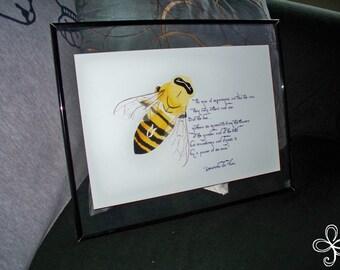 Ant's Bee Print