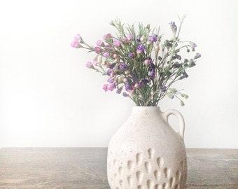 Ceramic vase home docor gift Handmade ceramic bud vase in speckled cream glaze