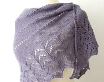 handknit lace shawl, silk alpaca scarf, lace prayer shawl, custom colors, MADE TO ORDER