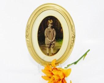Vintage Photo Button Frame