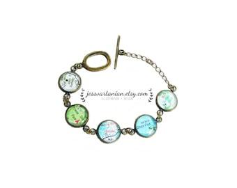 Bracelet of Any Five Locations in the Hawaiian Islands