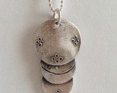 Cosmic Caterpillar Necklace