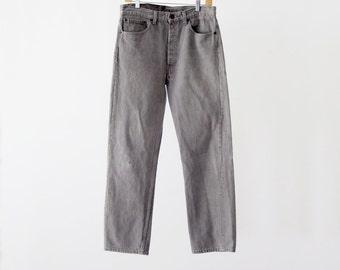 1980s Levi's grey jeans, waist 33