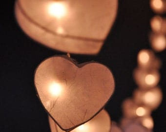 35 Bulbs fairy lights Love Forever Heart  Lanterns for wedding party, Part Lights, Chrismas Lights & decoration