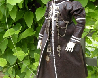 BJD steampunk coat