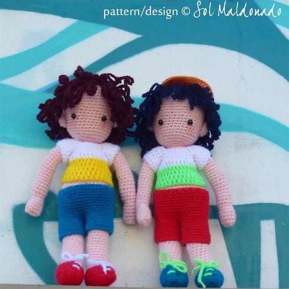 Free Amigurumi Boy Doll Patterns : Amigurumi Crochet Pattern Boy Doll PDF Instant Download by ...