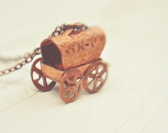gypsy caravan necklace.