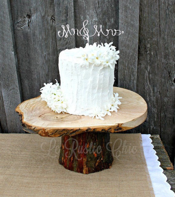 Wedding Cake Topper Wire Cake Topper Mr And Mrs Cake