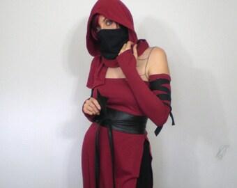 Ninja Hoodie Scarf