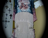 RESERVED Custom Order ... Buffalo Bill's Wild West Bohemian Cowgirl Dress for GpsyCowgrl
