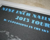 Nine Inch Nails Poster - 2013 Tour w/ Explosions in the Sky
