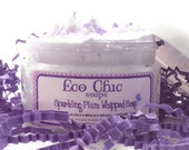 Whipped Soap - Sparkling Plum Whipped Soap - Soap in a Jar - Vegan
