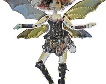 Steam Punk Fairy Paper Doll Kit