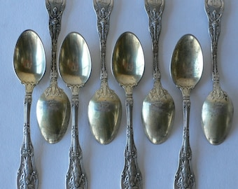 Mythologique Sterling Silver by Gorham 8 demitasse spoons from Diz has Neat Stuff