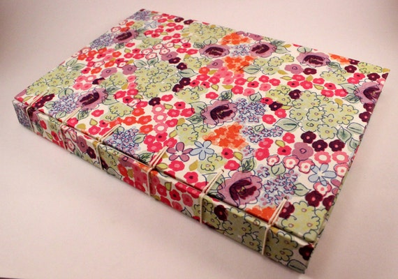 Handmade Guestbook Journal Springtime