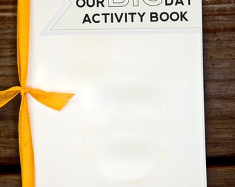 Digital Kids Wedding Activity Booklet - Generic