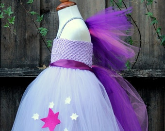 Twilight Sparkle Dress - Twilight Sparkle Costume - My little pony Costume Twilight sparkle Tutu Dress