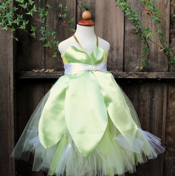 Princess Tiana Dress: Tiana Disney Princess Halloween Costume Tutu Dress By