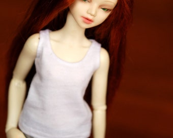 Minifee White Singlet For Slim MSD BJD