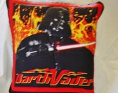 Handmade Quillow Star Wars Darth Vader Unique Gift for Man Boy Trucker Teenager Collector