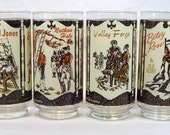 Coca Cola Heritage Collection Spirit of 1776 Set Of 4 Vintage 1970s
