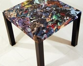 CUSTOM Comic Book Collage Table FREE SHIPPING Usa