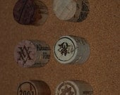 Wine Cork Pushpins Thumbtack