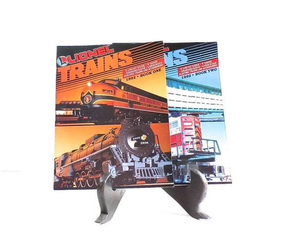 Lionel train catalogs