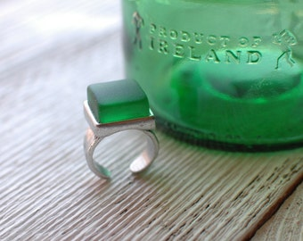 Jameson Irish Whiskey Ring | Recycled Glass Bottle Jewelry