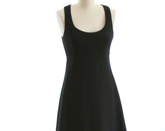 Black Nicole Miller Mini Dress - Size 4 - Perfect Little Black Dress