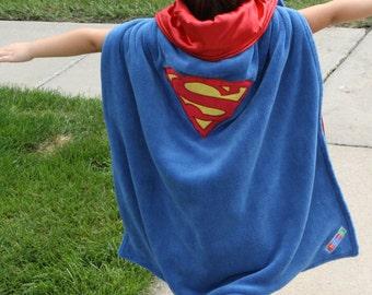 Super Hero Blanket Cape: Superman Super Blankie