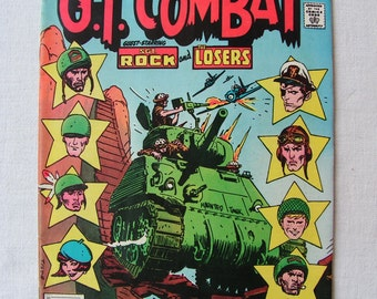 G.I. Combat - set of seven books - DC comics 1977 - 1981