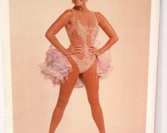 Mitzi Gaynor Show Tour Program Vintage 1970s Broadway Show Souvenir Concert Program showgirl dance burlesque kitsch comedy theater costumes