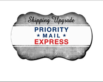 Upgrade to USPS Priority EXPRESS shipping (1-2 business days) domestic only, Redeemed Regalia only