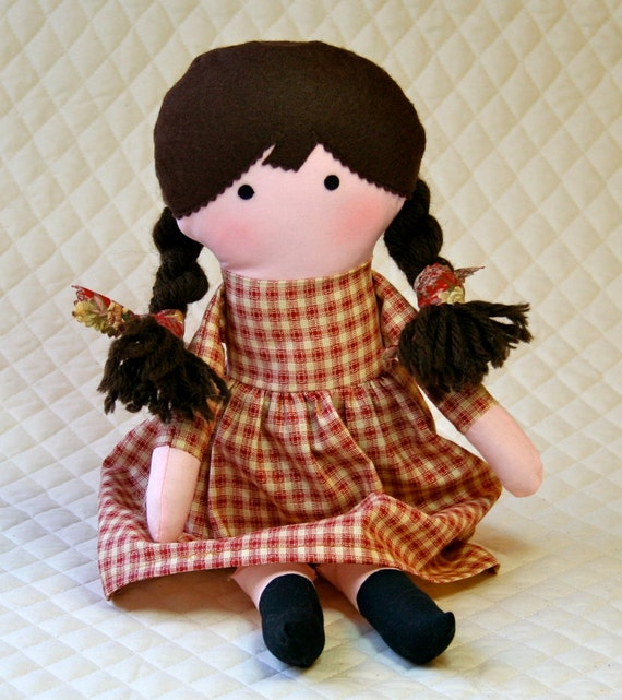 how to make a pioneer rag doll