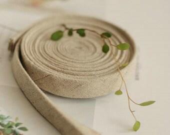 BULK, 5 yards of Bias for Natural Linen (T65)