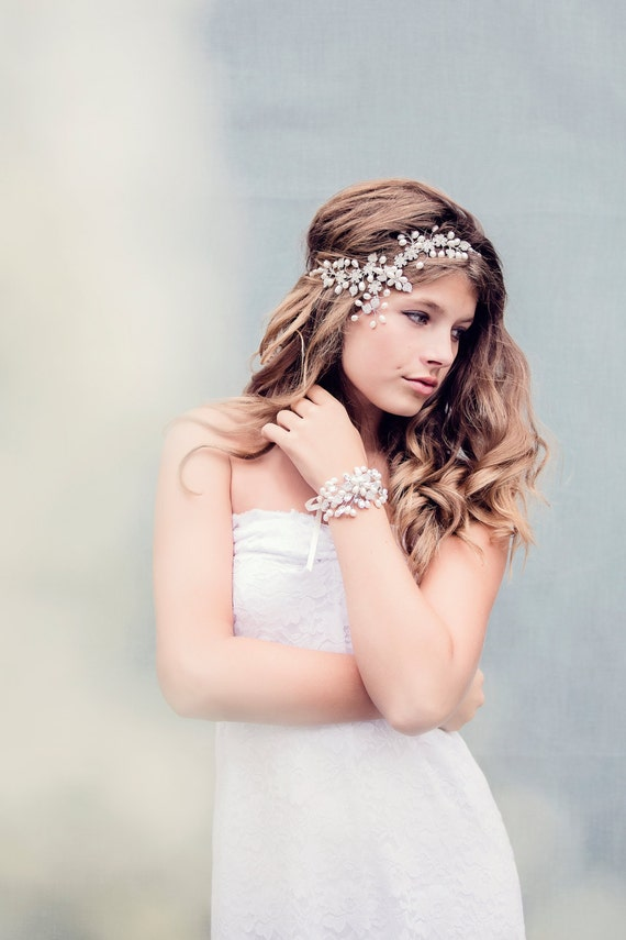 Bohemian Bridal Headpiece