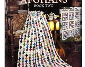 Scrap Yarn Afghans Book Two Crochet Pattern Leisure Arts Leaflet 2159