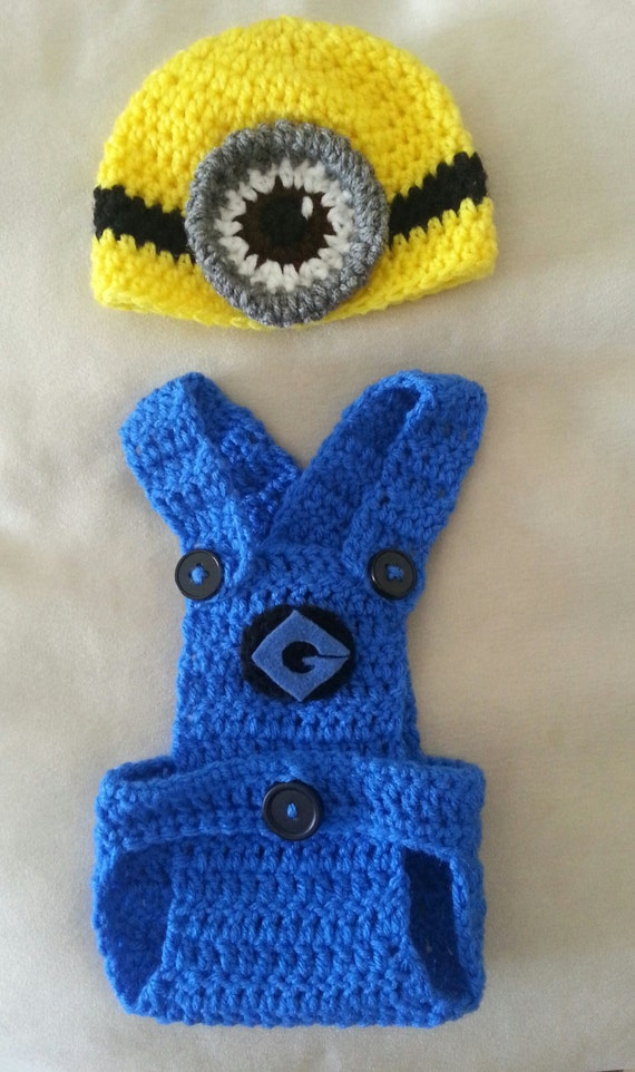 Free Crochet Pattern For Girl Minion Hat : Unavailable Listing on Etsy