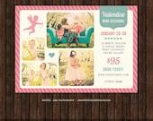 INSTANT Download Valentine Mini Session Marketing Template / Board - E15