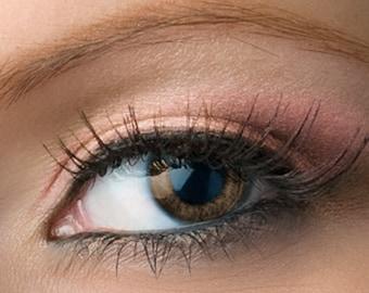 "Light Pink Shimmer Eyeshadow - ""Splendor"" - Vegan Mineral Eyeshadow Net Wt 2g Mineral Makeup Eye Color Pigment"