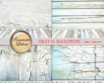 Easter digital backdrop Easter digital scrapbook background paper for newborn photo distressed wood backdrop Easter digital photography prop