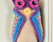 Owl Crochet Pattern - Immediate PDF Download