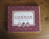 Original 1990 AMERICAN GIRLS Cookbook Never Used In NEW Condition
