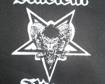 ANCIENT RITES PATCH Satanic Pentagram Black Metal Punk